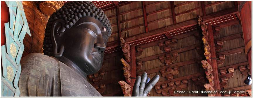 Photo:Great Buddha of Todai-ji Temple